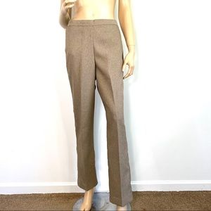 Alfred Dunner Khaki Dress Pants 8